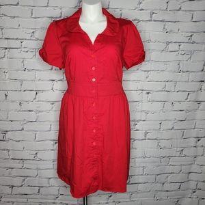 Modcloth Fervour Red Summer School Dress